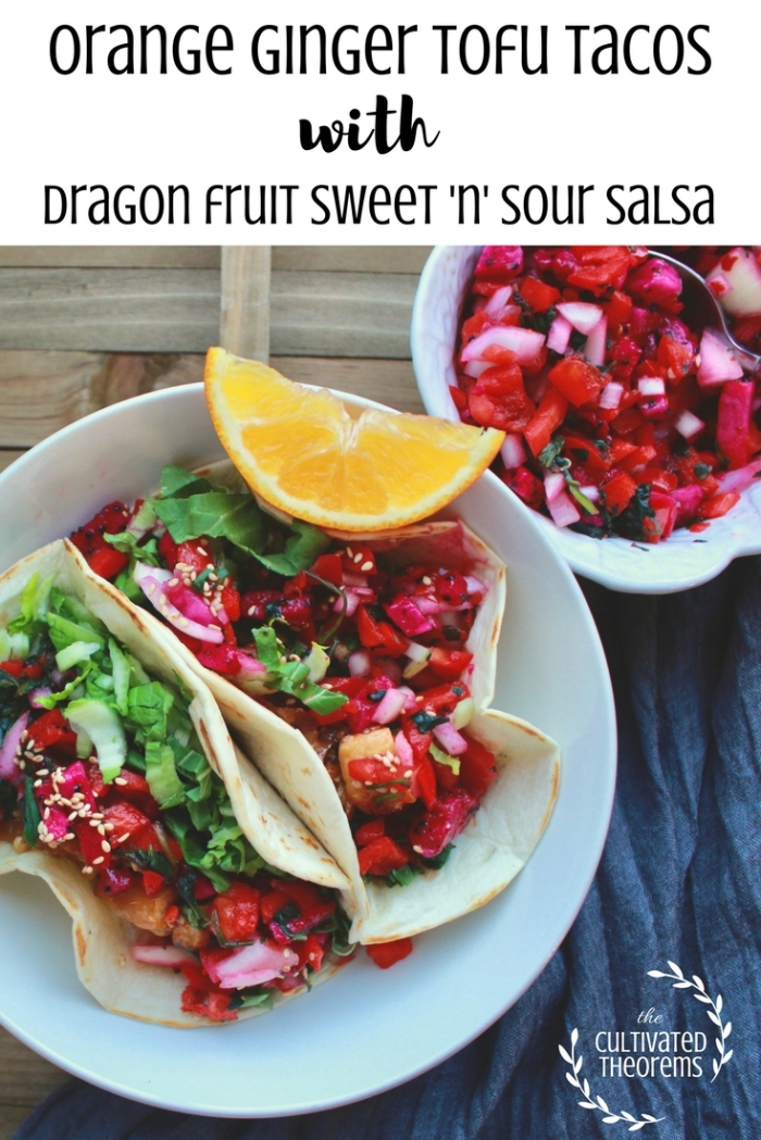 Orange GingerTofu Tacos